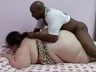 Huge fatty gets banged