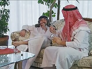 2 Arabs all round very Big Cocks fuck a hot Milf perfectly - (HD Restructure Scene)