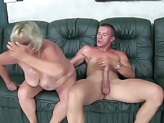 Slutty Gyulane gets her hairy pussy fucked by young ladies'