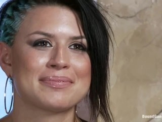 Eva Angelina gets make an issue of gangbang of her life