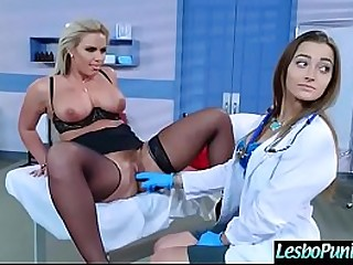 Busty lesbian MILF having beguilement by the adulterate